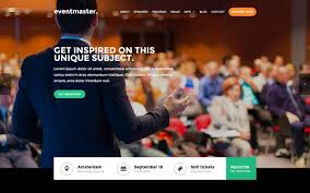 Event Website Template Eventmaster Event HTML24 Responsive Website Template 1