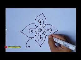 Pada motif batik bunga gambar, setidaknya akan memberikan gambaran terbaik dalam menentukan fashion batik serta batik pattern yang sedang motif batik apa yang bisa dipakai untuk berbagai momen? Cara Menggambar Batik Motif Bunga 1 Youtube