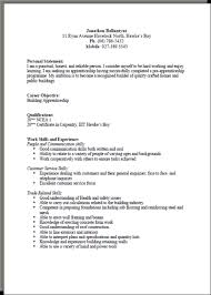 written resume cv formats and examples