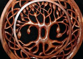 hand carved wooden wall art knot tree of life hand carved wood wall art panel handmade  on wall art tree of life wooden with hand carved wooden wall art hand carved woman face with moon wood