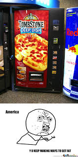 Tombstone Pizza Vending Machine Beauteous Pizza Vending Machine By Dylanbump Meme Center