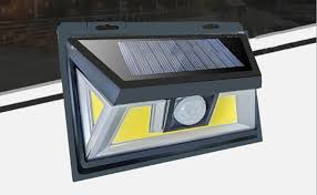 an example of well affordable emergency and protection exterior pir sensor light is outdoor 10w 66 cob led solar powered security sensor light with wide