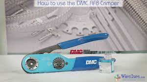 Daniels Crimp Chart How To Use The Dmc Af8