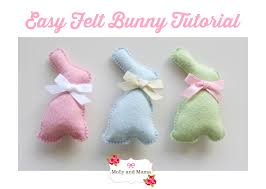 Free Bunny Pattern Template Awesome Design