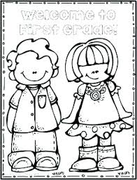 Grade Coloring Pages Back To School For First 2nd Free Second