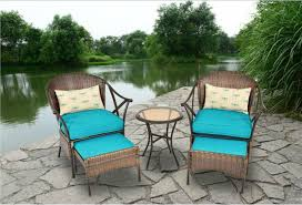 Amazon Outdoor Patio Furniture 5 piece All Weather Wicker