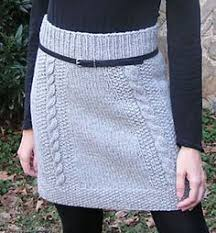 Knit Skirt Pattern Adorable Which Do You Choose Skirt Pattern By Jill Stover Wish Wants And