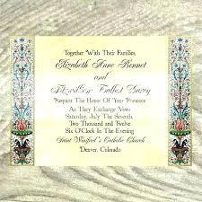 Medieval Invitation Template Banquet Wedding Templates Free