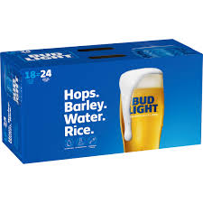 How Much Is A 18 Pack Of Bud Light Bud Light Beer 18 Pack 16 Fl Oz Cans Walmart Com