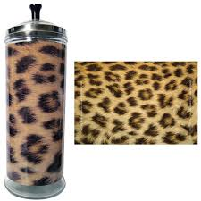 Barbicide Jar Decorative Salon Skins Decorative Barbicide Jar Wrap Cheetah Conceal Hair Loss 24