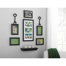 full size of arrangement nails black silver wall without white vinyl frame decor pictures set for