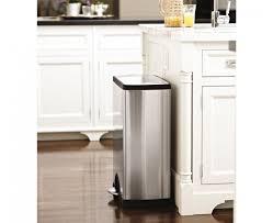 stainless steel kitchen trash can. Kitchen Garbage Cans Stainless Steel Trash Can