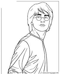 Small Picture HARRY POTTER Coloring Pages Free Printable