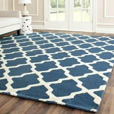 safavieh cambridge navy blue ivory 10 ft x 14 ft area rug