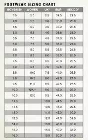 Euro Size Chart To Us Shoes How Do Shoes Sizes Vary In Mexico Quora