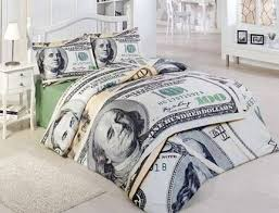 Pillows, Money Themed Bedroom