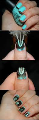 Best 25+ Feather nails ideas on Pinterest | Feather nail art, Nail ...