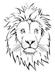 lion face drawing for kids.  Face Branco Leon Rosto Vector Clip Art Lion Vector Vector Free Face  Drawing On Drawing For Kids