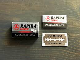 Rapira Platinum Lux Razor Blade Review Refined Shave