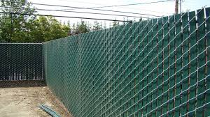 image of great chain link fence slats