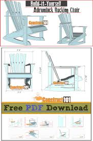 adirondack rocking chair plans. Plain Chair Adirondack Rocking Chair Plans  Free PDF Download Cutting List And  Shopping List On Rocking Chair Plans K