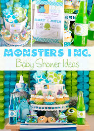 Monster Inc Baby Shower Decorations Monsters Inc Baby Shower Ideas Pinkduckycom All About Baby