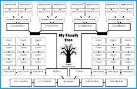 Family Tree Diagram Template Free Family Tree Template Family Tree