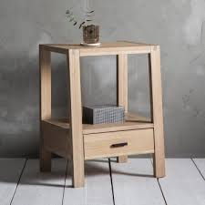 contemporary bedside tables.  Contemporary Waldorf Modern 1 Drawer Bedside Table Oak With Contemporary Tables I