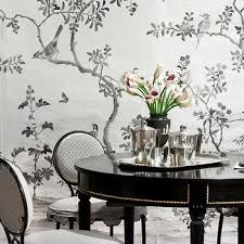 black lacquer dining room furniture. black and white dining room lacquer furniture