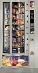 Refrigerated Vending Machine Extraordinary FOOD VENDING MACHINES Vending Machines South Florida