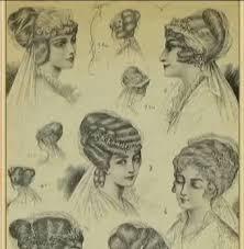 История причесок Прекрасные волосы история возникновения прически история причёсок фото романтизм
