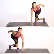 Image result for woman plyometric lunge workout