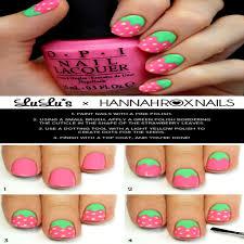 Luxury Nail Art Design Steps