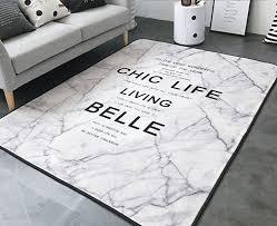 sangreazul modern plush trendy rug indoor outdoor area rug durable small mat rectangle circular easy