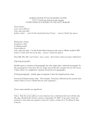 Complaint Letter Sample In Full Block Style Lezincdc Com