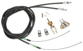 wilwood 1964 72 cutlass parking brake cable kit, rear @ opgi com Emergency Ke Wiring 1964 72 cutlass parking brake cable kit, rear click to enlarge