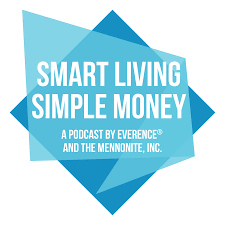 Smart Living, Simple Money- Podcast logo on Behance