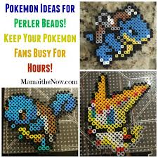 Perler Bead Pattern Interesting Over 48 Pokemon And Minecraft Perler Bead Patterns
