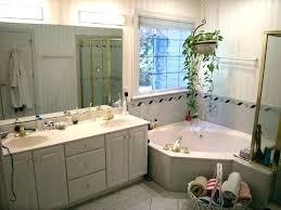 corner jacuzzi tub with shower whirlpool combo bathtub bathtubs standard manual