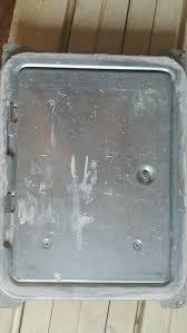 Ofen Verputz Tür