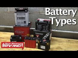 Motorcycle Atv Battery Types Choosing The Right Battery