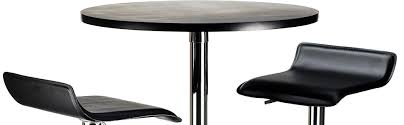24 Inch Round Table amazon winsome 24inch spectrum 3piece pub table chrome set 6422 by guidejewelry.us