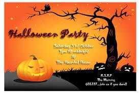 Pumpkin Invitations Template Halloween Invitation Card Ideas Hallowe Fancy Costume Party