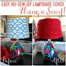 How To Make A Lampshade Slipcover