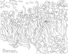 Small Picture Vincent Van Gogh coloring page Coloring Pages la de cosas