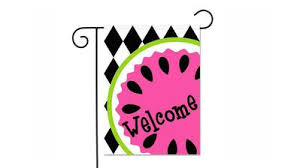 pink welcome one hip sticker chic summer