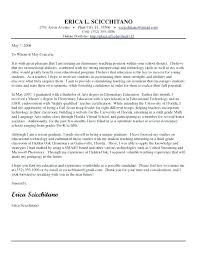 Cover Letter Sample Teacher Fascinating Teacher Cover Letter Template Sample Teacher Cover Stunning Sample