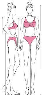 61 Surprising Body Measurement Chart For Sewing Pdf