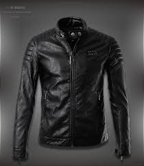 mens leather jacket casual faux fall mens wear size m 4xl whole 448