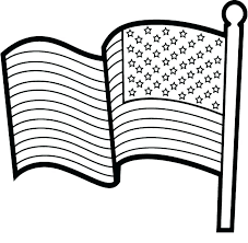 American Flag Coloring Sheet Coloring Page Flag 4 Coloring Page Flag